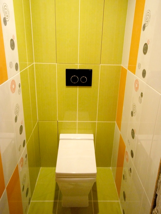 Дизайн своими руками в туалете 14