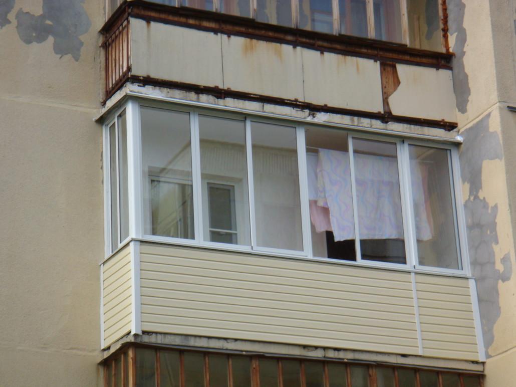 Фото отделки балконов - ремонт квартир северодвинск окна бал.