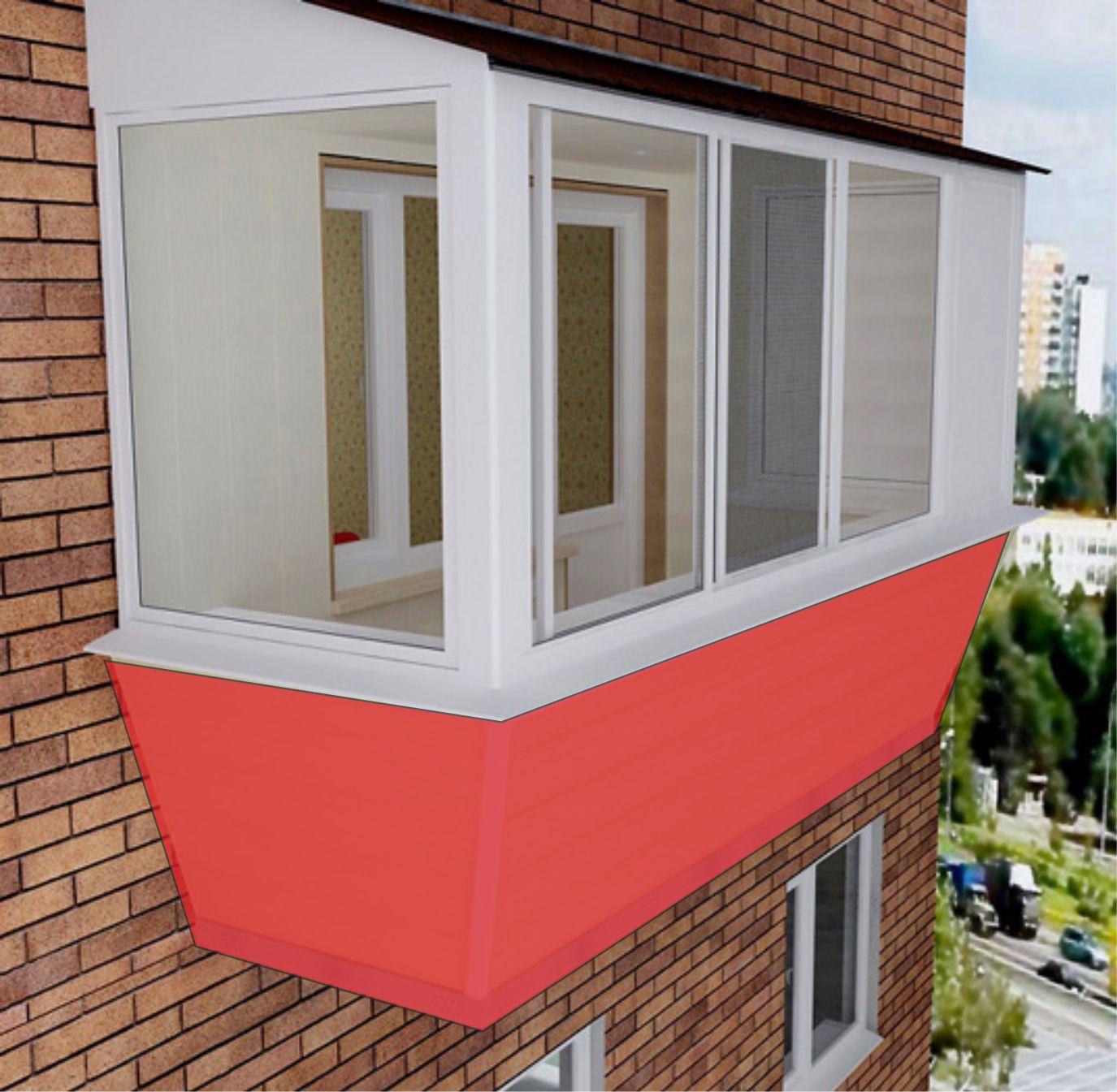 Балконы северодвинка брежневка цены - ремонт квартир северод.